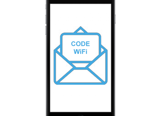 Authentification au WiFi par code SMS