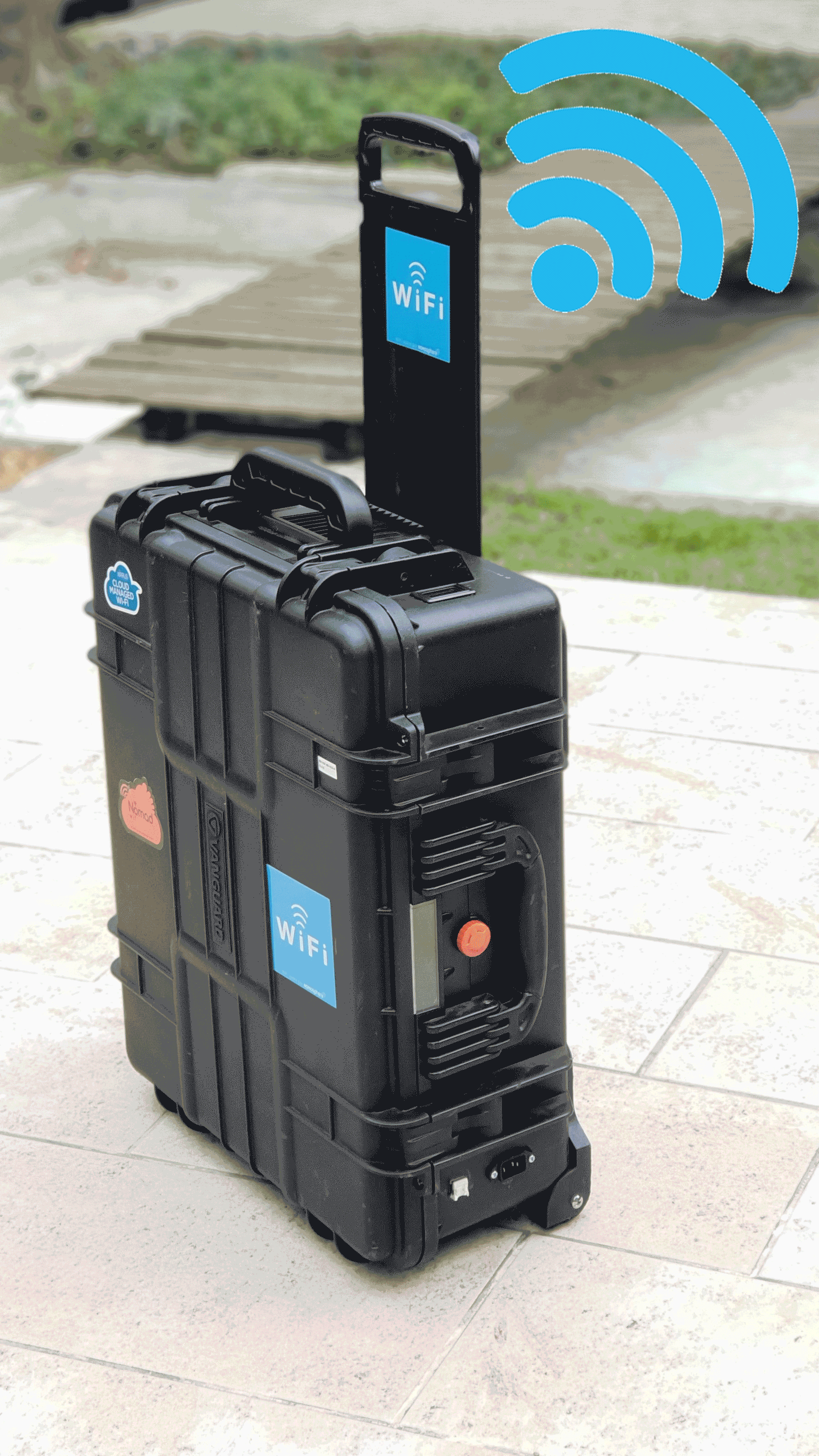 valise infrastructure wifi temporaire